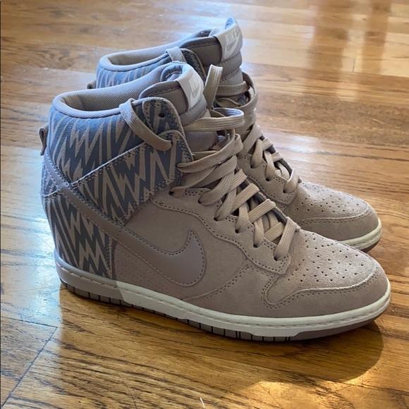 Nike Shoes | Nike High Heel Tennis